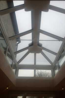 Roof lantern fitted